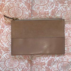 Pink JCrew Wallet Clutch
